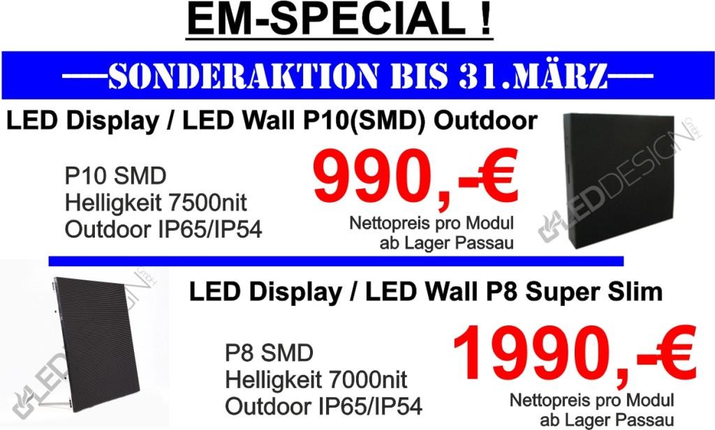 Sonderangebot LED Displays