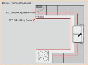 Beispiel-Küchenbeleuchtung