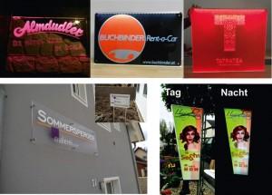 LED Leuchtschilder / Werbeanlagen